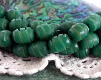 Buri Nut Beads, Buri Seed Beads, Natural Buri Nut Beads, Buri Palm Nut Beads  NAT-188