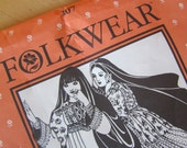 Uncut Folkwear Sewing Pattern 107 - Afghani Nomad Dress - Small-Large 6-16