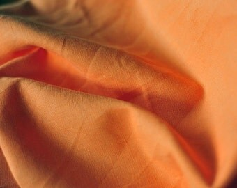 Orange linen tablecloth.Linen houseware.Orange table linen.Handsewn and ready to ship!