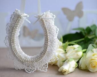 Wedding gift for couples- Vintage style wedding horseshoe decoration