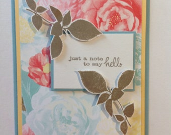 Card - Any Occasion - Floral Note Card
