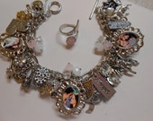 Twilight Saga Breaking Dawn Part 2 Charm Bracelet With Ring and Necklace