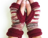 Fingerless Mittens, Hipster Mitts,  Womens Mittens, Hand Knit Texting Driving Gloves,  Hipster Mittens, Fingerless Gloves, Boho Gloves,