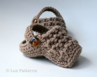 Crochet patterns, Crochet baby slipper pattern, baby clogs crochet pattern INSTANT DOWNLOAD