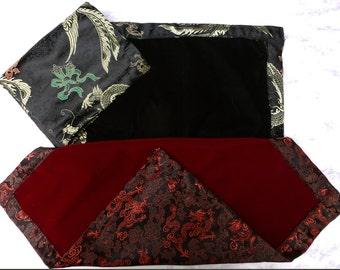 Divination Cloth- Velvet  and  brocade satin