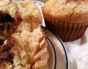 Brown Sugar Cream Cheese Muffins