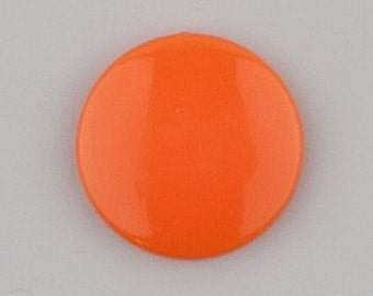 B55 Orange for Cloth Diapers/Bibs/Crafts/Plastic Snap Buttons