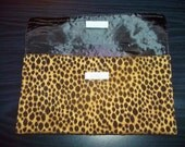 Lepoard Upcycled Clutch