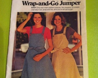 Butterick Pattern 3706 Wrap and Go Jumper