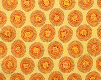 Spinning Wheel in Citrus (7830D-2) by Alexander Henry - Everyday Eden - 1/2 yard