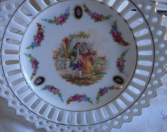 German made vintage plate