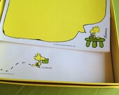 vintage peanuts charles schulz woodstock stationery & envelopes in original box