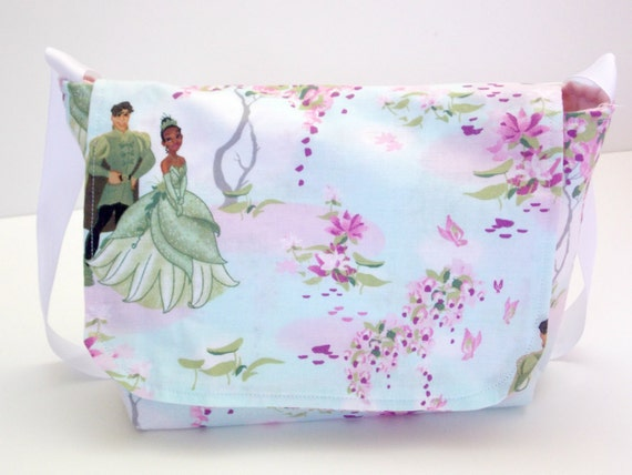 Princess and the Frog Kids Messenger Bag, Toddler Child Bag