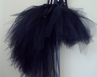 Black Burlesque Tutu Skirt