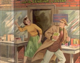 Ginny Gordon and the Lending Library Vintage Whitman Book by Julie Campbell Illustrated by Margaret Wesley