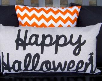 Happy Halloween Pillow