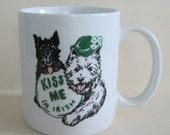 Irish Coffee Mug - Kiss Me I'm Irish