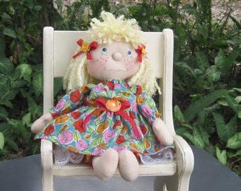 "16"" Cloth Rag Doll - Libbee"