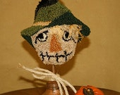 "Punch Needle ""Scarecrow"" Whimsie"