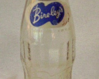 Antique Vintage Glass Bireley's Soda Bottle