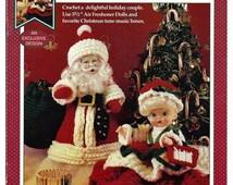 Christmas Scents Crochet Air Freshener Doll Pattern Fibre Craft FCM433