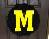 Michigan Wreath