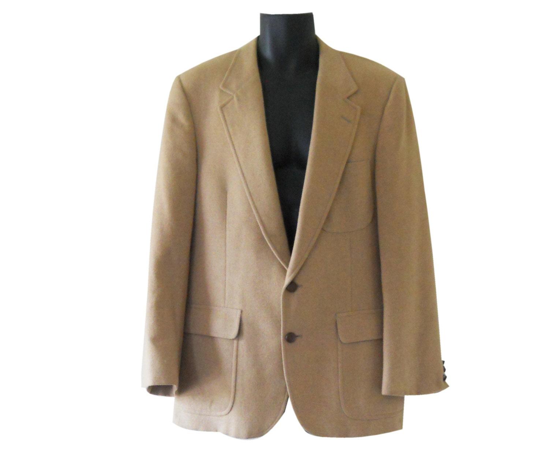 Men Camel Hair Blazer Camel Hair Jacket Bill Blass Blazer Men