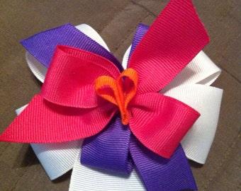 5 inch grosgrain hair bow