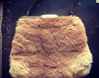 Morella genuine kangaroo pelt purse