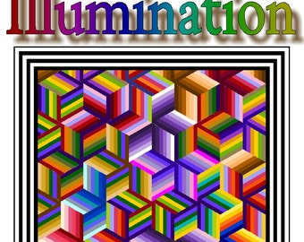 ILLUMINATION - Quilt-Addicts Patchwork Quilt Pattern