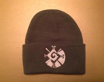 Galactic Butterfly Hunab Ku Beanie Winter Hat made to order