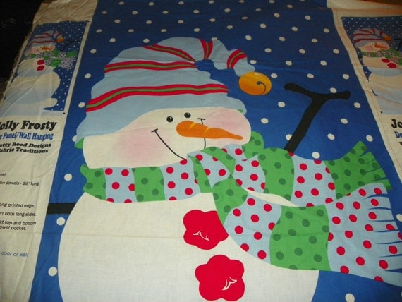 Christmas door panel wall jolly frosty sold by the