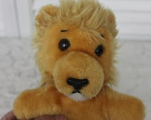 Vintage R.Dakin & Co.1979 Stuffed Beanie Lion