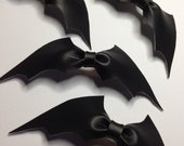 Leather Bat Bow (1)