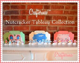Nutcracker Ballet Playtime Tableau Printable Set - Paper Goods - Puppet - Theater - Toy - Children - Ballet