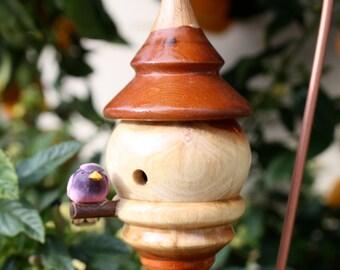 Maple & Oak Birdhouse Ornament HD20