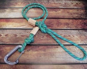 Upcycled Climbing Rope Dog Leash
