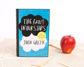 Book Kindle, Nook or mini iPad Cover- Ereader Case The Fault in our Stars- John Green