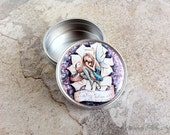 Tooth Fairy Stash Tin - Pill Case Small Purse Accessory - Baby Teeth Keepsake - Stocking Stuffer - Jewelry Storage - Sarah Alden