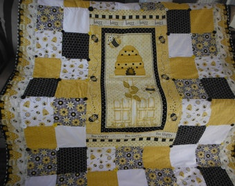 Bumble Bee Baby Quilt Pattern Sewing Patterns For Baby
