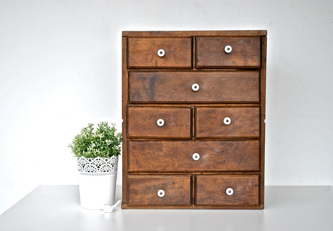 Wonderful image of by charliesnest Large Antique Wooden Cabinet with Drawers with #392310 color and 1280x888 pixels