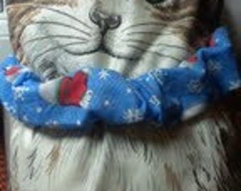 Kitty Cat Collar Covers - Winter - Polar Bears