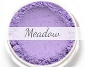 """Eyeshadow Sample - """"Meadow"""" - matte lavender purple - Mineral Eyeshadow (Vegan) Natural Mineral Makeup Eye Color Pigment"""