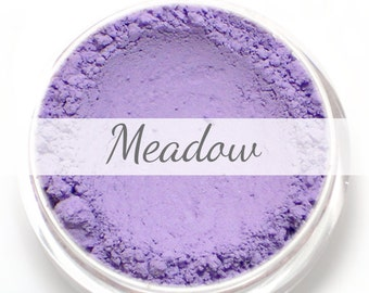 "Eyeshadow Sample - ""Meadow"" - matte lavender purple - Mineral Eyeshadow (Vegan) Natural Mineral Makeup Eye Color Pigment"