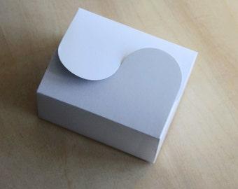 Set of 100, White Cake Box, Gift Box, Favor, Gift, Party