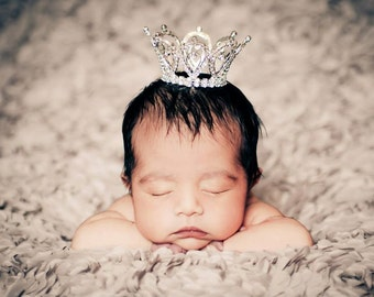 Austrian Crystal Newborn Crown Photography Prop