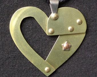 Steampunk Heart Series 1 (Riveted Brass)