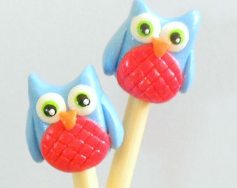 Owl Knitting Needles