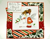 Wee Stamp Winter Fairy Christmas Card