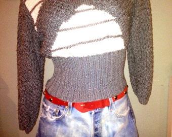 Sexy cool Vintage size medium knit sweater